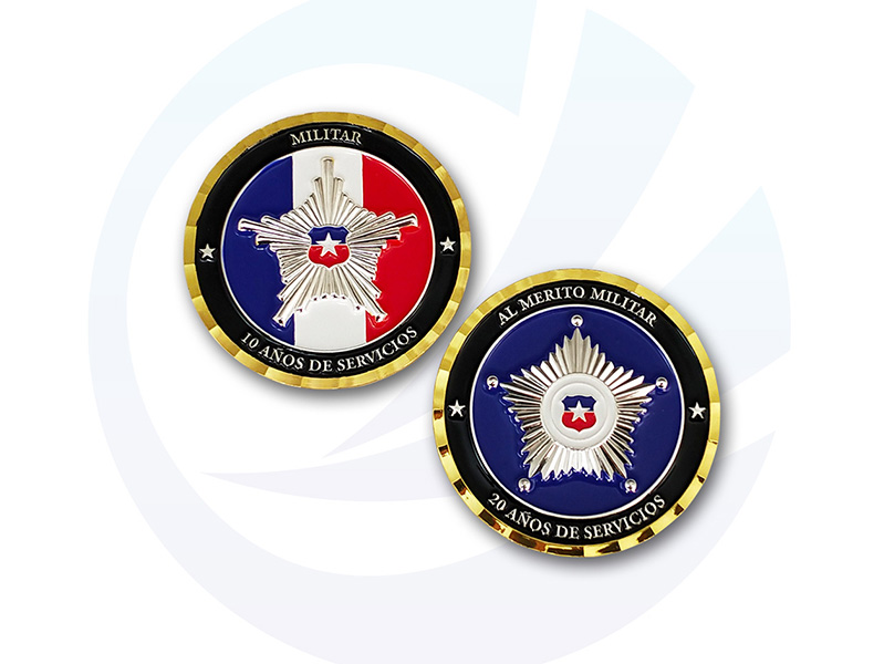 Chile Challenge Coins