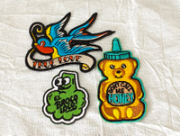 Cartoon Embroidery Patch