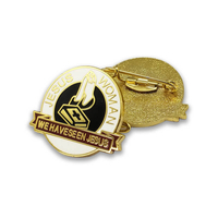 Factory Custom Metal Art Craft Organization Badge Souvenir Lapel Pin