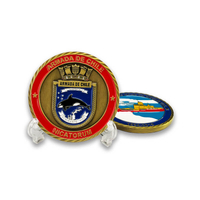 Chile Navy Challenge Coin
