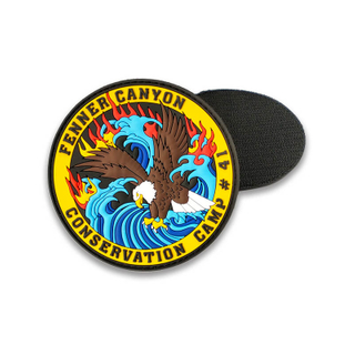Custom US Eagle Logo PVC Patch