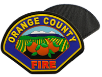 US Orange County Fire Uniform Patch